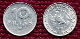 Hongrie 10 Filler 1988. - Hongarije