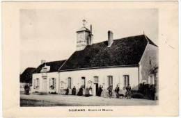 Soirans - Ecole Et Mairie - France