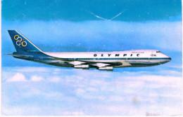 AVIATION ... BOEING 747 200  .... OLYMPIC AIRWAYS - 1946-....: Moderne