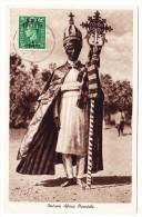 AK Eritrea - Costumi Africa Orientale - - Erythrée