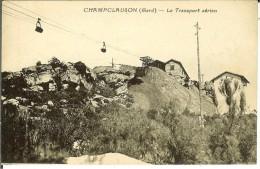 CPA  CHAMPCLAUSON, Le Transport Aérien  11198 - Otros Municipios