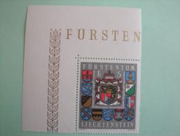 Liechtenstein  -  1973  - Yvert  537 ** Armoiries  - Coat Of Arms  -  SG 581  - Scott 533 - Michel 590 - Neufs