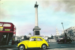 VOLKSWAGEN Kafer  Beetle  Coccinelle  Maggiolino  Trafalgar Square London - Turismo