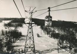 Popova Sapka Macedonia, Ski Lift Skilift Gondola Gondel,  Old Postcard - Macedonië