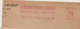 """Médicament, Laboratoire, """"Laleuf"""" - EMA Havas - Devant D'enveloppe   ( P031) - Medicina"""