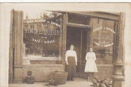 Commerce - Restaurant Café - Carte-Photo -  Restaurant à  L'arrêt Des Camionneurs - A Situer - Restaurants