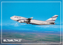 Israel Airlines Boeing 747-400 Jet Airplane , 80-90s - Maldives