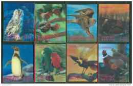 """1969 Bhutan Uccelli Birds Oiseaux Hologram Set Complete MNH** """"Excellent Quality"""" - Birds"""