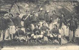 A La Frontière Franco-Italienne - Bersagliers Et Chasseurs Alpins - Douane
