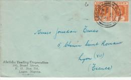 1935. COVER. LETTRE. LAGOS - FRANCE / 2689 - Nigeria (...-1960)