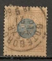 Timbres - Suède - 1878 - 1 Kr. - - Oblitérés