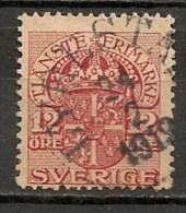 Timbres - Suède - 1910  - 12 Ore -