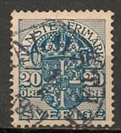 Timbres - Suède - 1910  - 20 Ore -