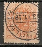 Timbres - Suède - 1910  - 25 Ore -