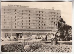 ALLEMAGNE Deutchland - SCHWERIN : Hotel STADT SCHWERIN - CPSM Photo Noir Blanc A Priori RARE ? (0 Sur Le Site) - Schwerin