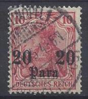 Germany (Turkei) 1905  (o) Mi.25 - Bureau: Turquie