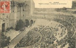 Orange Theatre Antique La Scene Et Les Gradins - Orange