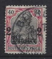 Germany (Turkei) 1905-13  (o) Mi.41  (Beirut 2.7.11) - Officina: Turquia