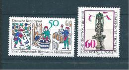 Allemagne Fédérale Timbre De 1980   N°909  Et  910  Neufs - [7] Federal Republic