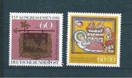 Allemagne Fédérale Timbre De 1980   N°911  Et  912  Neufs - [7] Federal Republic