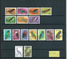 1977/79/85 Suriname Complete Set Birds,oiseaux,vögel,vogels MNH,Postfris,neuf Sans Charniere(D-101) - Surinam