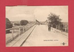 *  CPA..dépt 91..JUVISY Sur ORGE   :  Le Pont  : Voir Les 2 Scans - Juvisy-sur-Orge