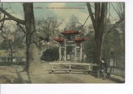 CP Liège Un Coin Du Jardin D'Acclimatation éd. Colorisée  Et Glacée Vers 1910 - Lüttich