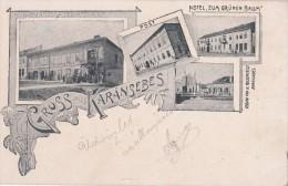 Cpa Synagogue Karansebes Jewish Judaica - Jewish
