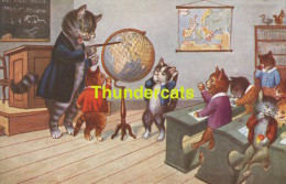 CPA  CHAT  HUMANISEE  ** HUMANIZED DRESSED CAT  **  SWSB 4370 - Katzen