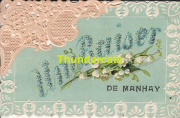 CPA  IN BAISER DE MANHAY - Manhay