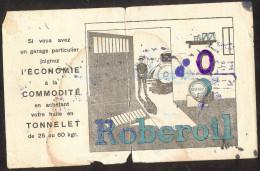 PAPIER BUVARD ROBEROIL - Buvards, Protège-cahiers Illustrés