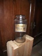 Ancien Pot Pharmacie Ou Confiserie  Pour      Fleur De Pied De Chat - Unclassified