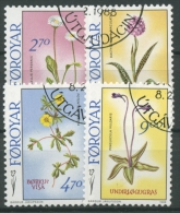 Färöer 1988 Blumen 162/65 Gestempelt - Féroé (Iles)