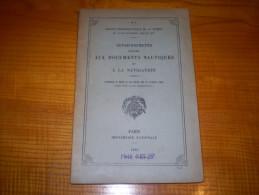 Service Hydrographique De La Marine : Renseignements Relatifs Aux Documents Nautiques & à La Navigation - Catalogues