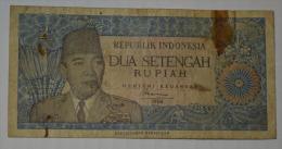 Republik Indonesia, Dua Setengah Rupiah - Indonesia