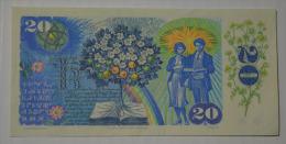 Bankovka Statni Banky Ceskoslovenske - Tchécoslovaquie