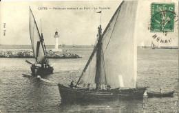 Cette Pecheurs Rentrant Au Port La Tourette - Sete (Cette)