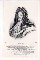 Histoire - Louis XIV Né à Saint Germain En Laye N° 28 - Historia