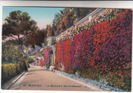 CPA Beaulieu Le Boulevard Gordon Bennett (pk15297) - Beaulieu-sur-Mer