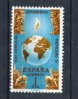 España 1965. Edifil 1695 ** MNH. - 1931-Hoy: 2ª República - ... Juan Carlos I