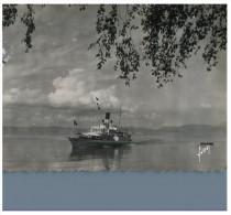 (M+S 350) Ships - Boat - Bateau - Evian Les Bains And Ship - Ferries