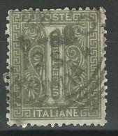 Regno D'Italia, 1863 - 1c Serie De La Rue O Effige Di Vittorio Emanuele II - Nr.14TA Usato° - 1861-78 Vittorio Emanuele II