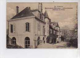 COLLONGES - Château De FRIAC - Très Bon état - Andere Gemeenten