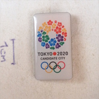 Badge / Pin ZN001006- Olympic Games 2020 Candidate Tokyo Japan - Olympische Spelen