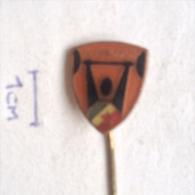 Badge / Pin ZN001008 - Weightlifting (Dizanje Utega) Yugoslavia Federation (Jugoslavenski Savez) - Weightlifting