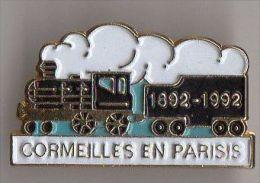 PIN´S TRAIN CORMEILLES EN PARISIS - Trasporti
