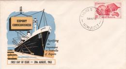 Australia 1963 Export FDC - FDC