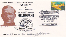 Australia 1980 Southern Cross Air Race Signed Souvenir Cover - Australia