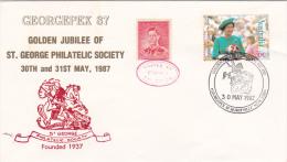 Australia 1987 Gerogepex Golden Jubilee Souvenir Cover - Australia