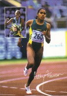 Australia 2000 Cathy Freeman Prepaid Postcard - Postal Stationery